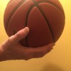 "Correct Thumb - ""Bad Basketball Hands and My Flat Thumb Theory"" by Jim Burson https://jimburson.com"