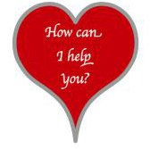 How can I help you? (enclosed within a heart)